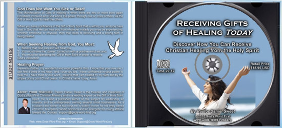 Receiving Gifts of Healing Inside CD