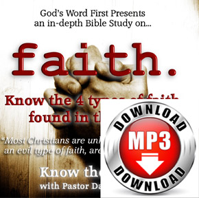 Bible Study on Faith Manifestation Audio Sermon MP3 Download