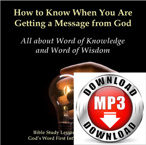 Word of Knowledge and Word of Wisdom mp3 download