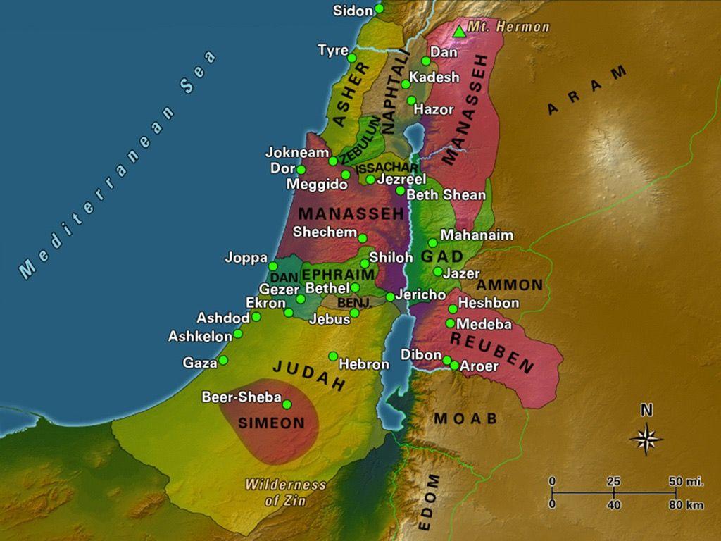 Free Bible Maps & Charts of Bible Lands - Main List