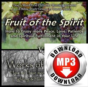 Fruit of the Spirit v.s Works of the Flesh
