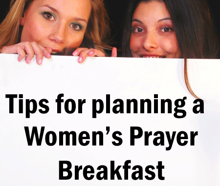 Womens Prayer Breakfast Planning