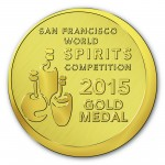 San Francisco World Spirits Competition Medallion Artwork