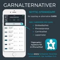 App: Garnalternativer