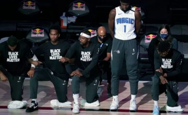 Jonathan Isaac Became The First Nba Player To Stand During