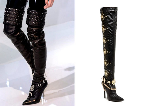 VERSACE SPRING 2014 - JEFFREY CAMPBELL 'Purdy' Over the Knee Boot, 215.74€ (nordstrom.com)