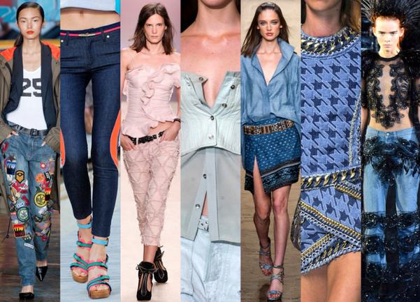5 TENDENCIAS en DENIM que vestirás la PRIMAVERA-VERANO 2014