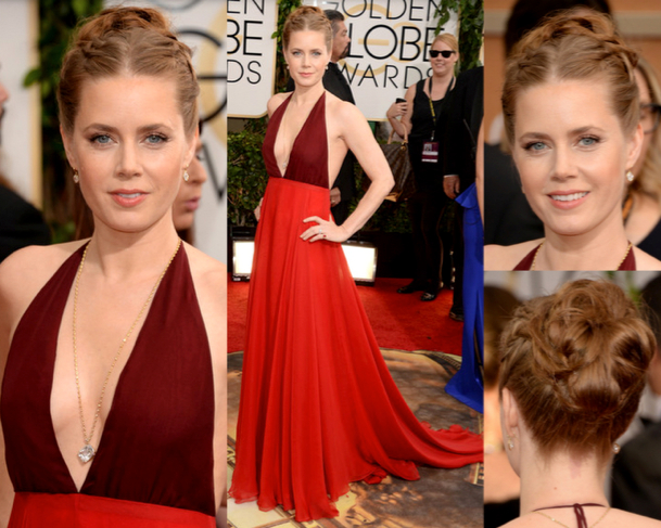 AMY ADAMS in VALENTINO - 71st ANNUAL GOLDEN GLOBES AWARDS 2014