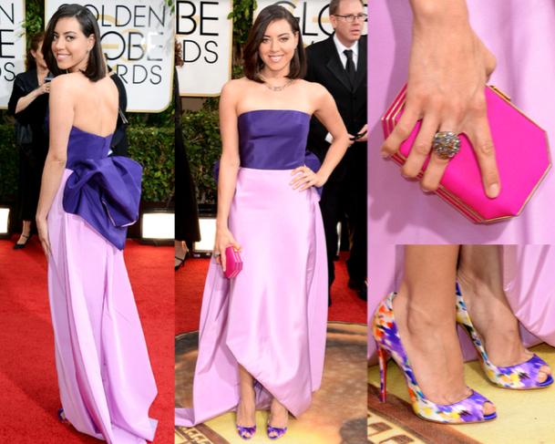 Aubrey-Plaza-Las-Mejor-Vestidas-de-los-Golden-Globe-Awards-2014-godustyle