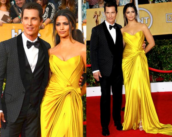 Camila-Alves-Matthew-McConaughey-Las-Mejor-Vestidas-de-los-2014-SAG-Awards-godustyle
