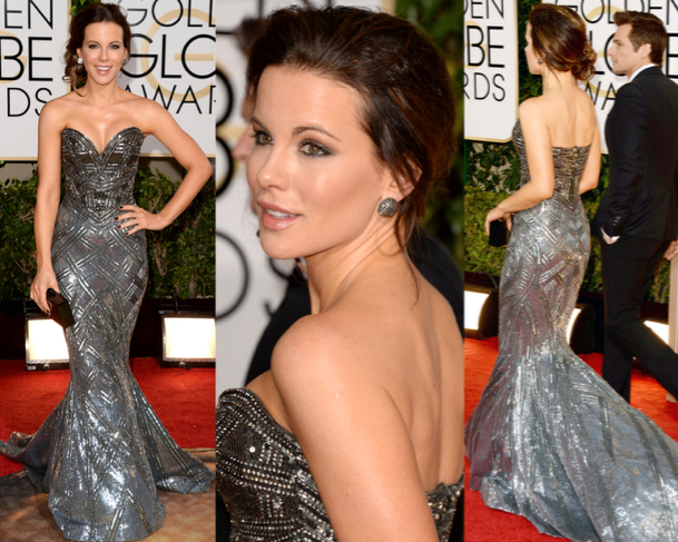 KATE BECKINSALE in ZUHAIR MURAD COUTURE - 71st ANNUAL GOLDEN GLOBES AWARDS 2014