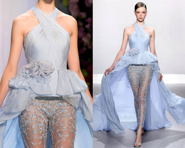 RALPH & RUSSO HAUTE COUTURE PRIMAVERA-VERANO 2014 - PARIS FASHION WEEK