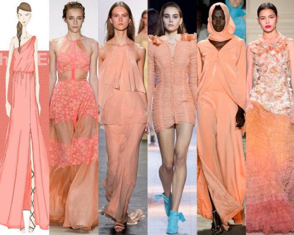 Peach Echo Colores Moda Verano 2016
