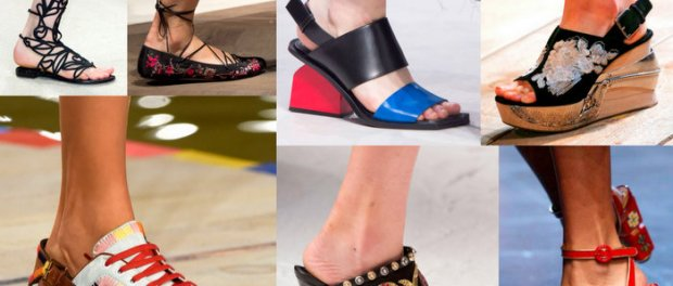 7 Zapatos de Tendencia Primavera-Verano 2016