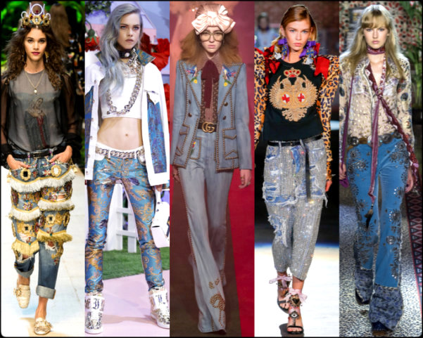 denim, denim deluxe, tendencias primavera-verano 2017, tendencias, tendencias milan fashion week, milan fashion week, trends spring 2017, trends milan fashion week, trends