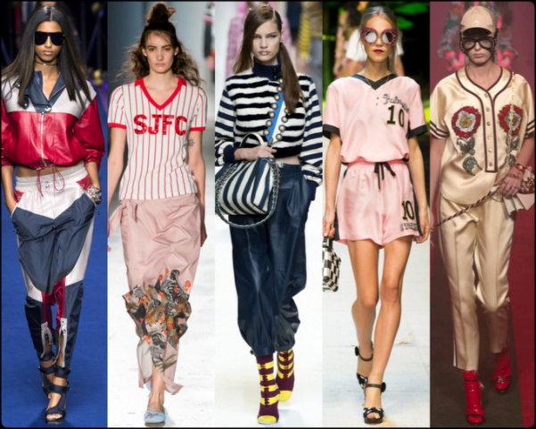sporty chic, athleisure, tendencias primavera-verano 2017, tendencias, tendencias milan fashion week, milan fashion week, trends spring 2017, trends milan fashion week, trends