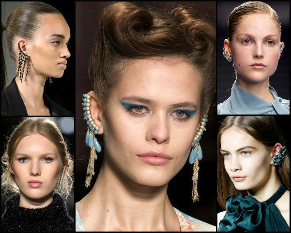 ear cuffs, joyas, tendencias, jewels, trends, fall 2017, joyas de tendencia, jewels trend
