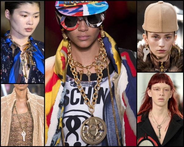 llaves, keys, joyas, tendencias, jewels, trends, fall 2017, joyas de tendencia, jewels trend