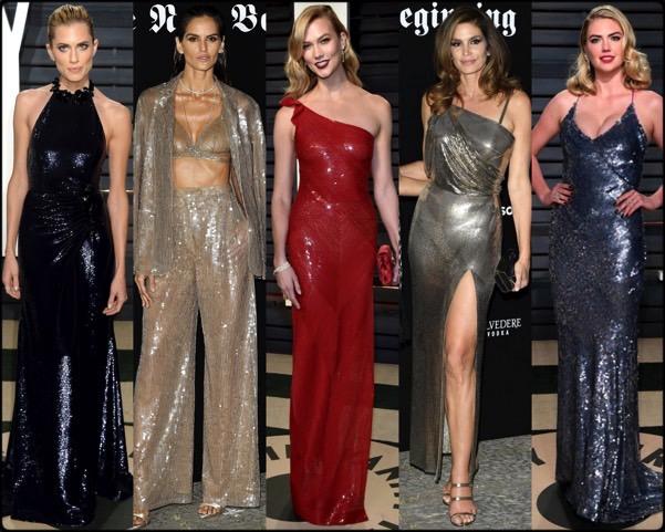 celebrities, celebrities looks, sequin looks, lentejuelas, vestidos fiesta, party dresses, sequin trend