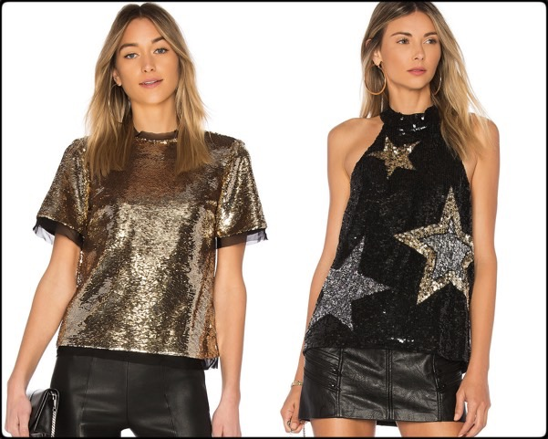 sequin tops, tops lentejuelas, vestidos fiesta, party dresses, sequin trend