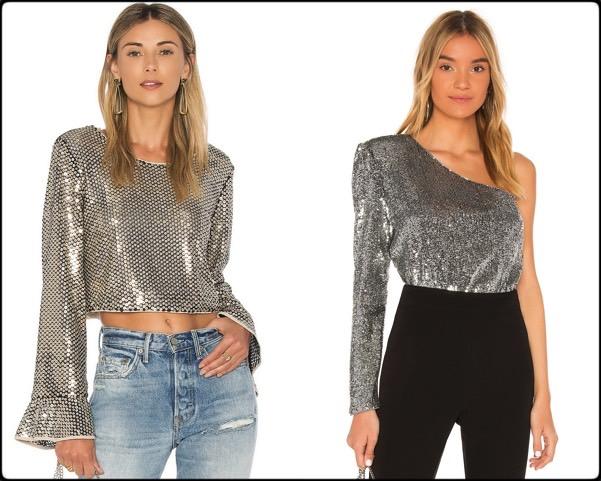 sequin tops, tops lentejuelas, vestidos fiesta, party dresses, sequin trend