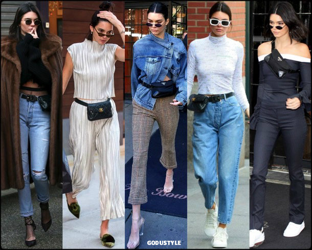 fanny pack, belt bag, riñonera, spring 2018, it bag, trend, kendall jenner, looks, style, runway, streetstyle, shopping, tendencia, bolsos