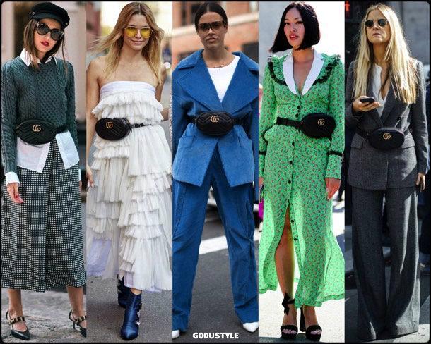 fanny pack, belt bag, riñonera, spring 2018, it bag, trend, tiffany hsu, looks, style, runway, streetstyle, shopping, tendencia, bolsos