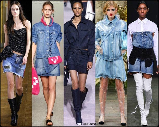 denim, jeans, look, style, details, spring 2018, runway, trend, tendencia, verano 2018, pasarela