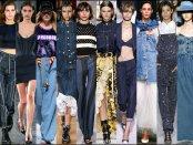 denim, jeans, look, style, detail, spring 2018, runway, trend, tendencia, verano 2018, pasarela