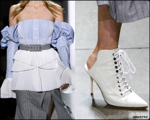 jonathan simkhai, fall 2018, looks, nyfw, review, style, details, shoes, fashion week