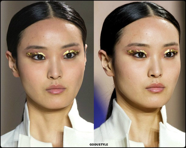 beauty, looks, akris, fall 2018, trends, pfw, belleza, invierno 2019, tendencias, looks, style