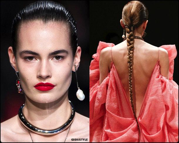 beauty, looks, alexander mcqueen, fall 2018, trends, pfw, belleza, invierno 2019, tendencias, looks, style