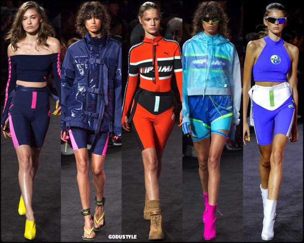 bike shorts, spring 2018, trends, pantalon ciclista, tendencias, verano 2018, looks, runways, style