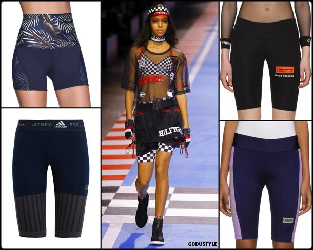 bike shorts, shorts, spring 2018, trends, pantalon ciclista, tendencias, verano 2018, looks, style, shopping