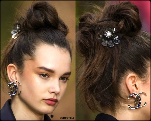 beauty, looks, chanel, fall 2018, trends, pfw, belleza, invierno 2019, tendencias, looks, style