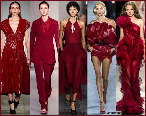chili oil, colors, spring 2018, trends, colores, tendencias, verano 2018, looks, style, runways, details
