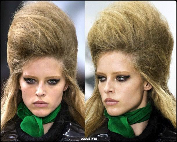 beauty, looks, miu miu, fall 2018, trends, pfw, belleza, invierno 2019, tendencias, looks, style