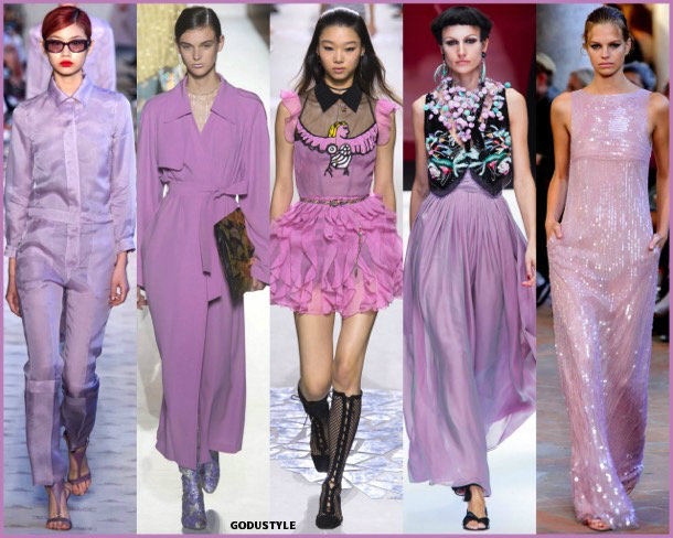 pink lavander, colors, spring 2018, trends, colores, tendencias, verano 2018, looks, style, runways, details