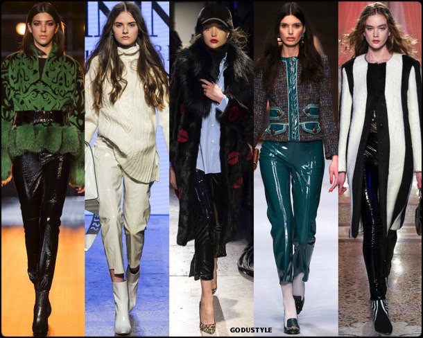 pvc, plastico, fall 2018, invierno 2019, trend, tendencia, mfw, looks, runway, style, details, milan fashion week