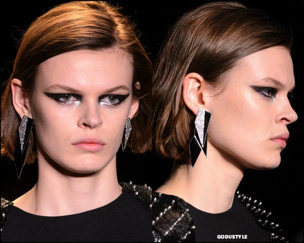 beauty, looks, saint laurent, fall 2018, trends, pfw, belleza, invierno 2019, tendencias, looks, style