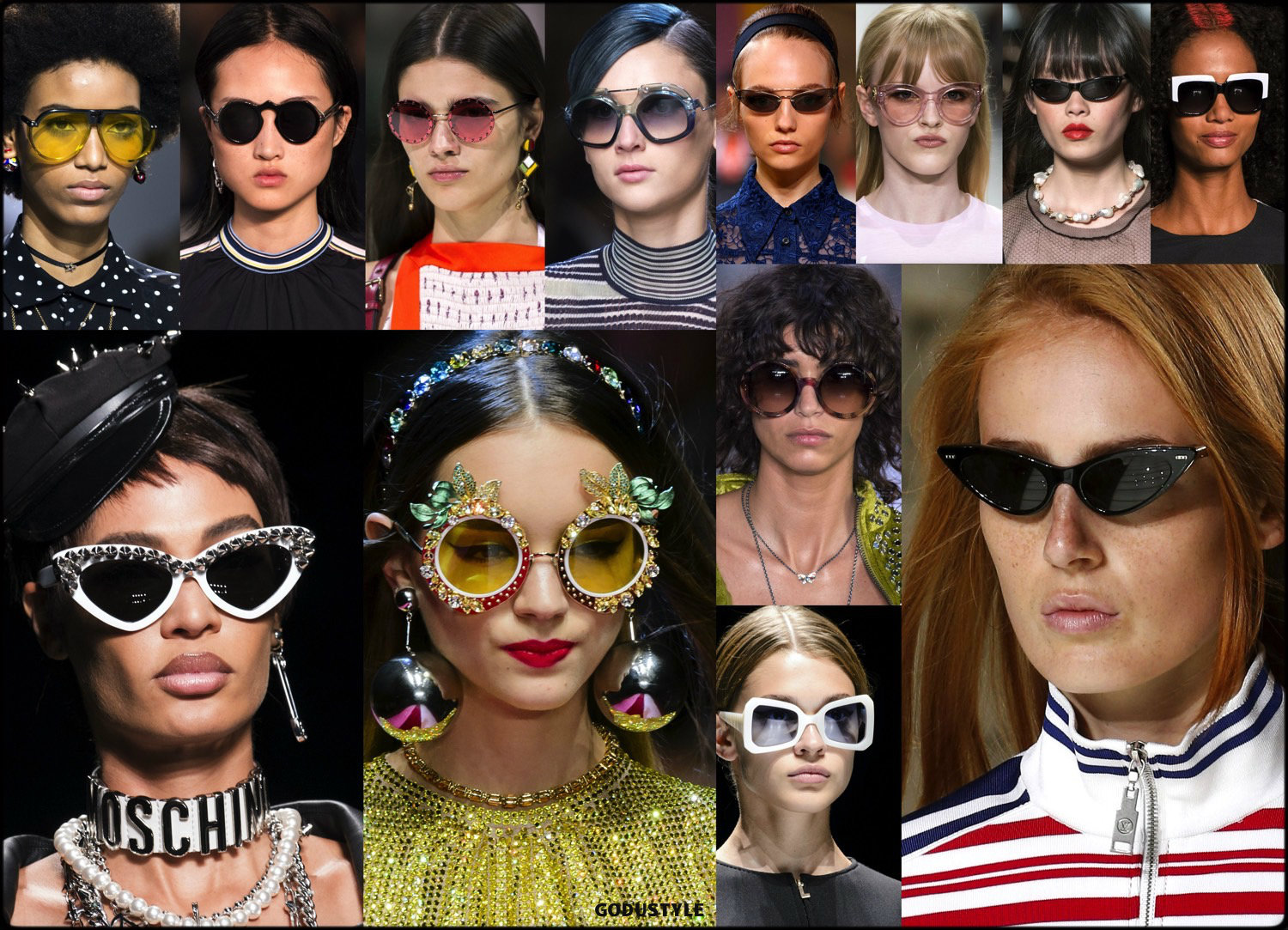 47abb28355 sunglasses, summer 2018, trends, gafas sol, verano 2018, tendencias, looks