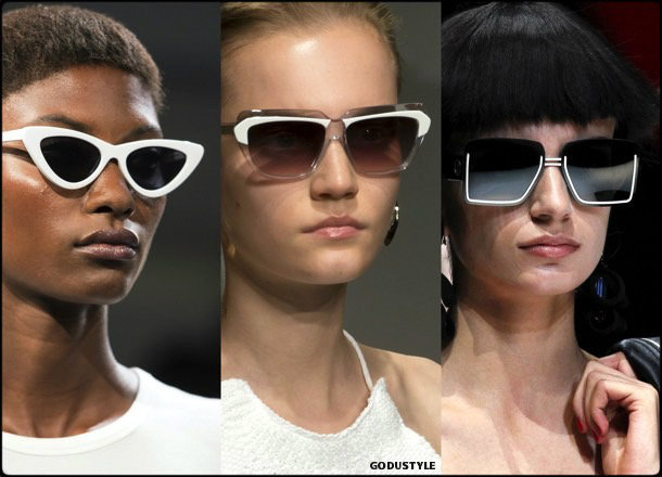 sunglasses, white frames, summer 2018, trends, gafas sol, verano 2018, tendencias, looks, style, shopping