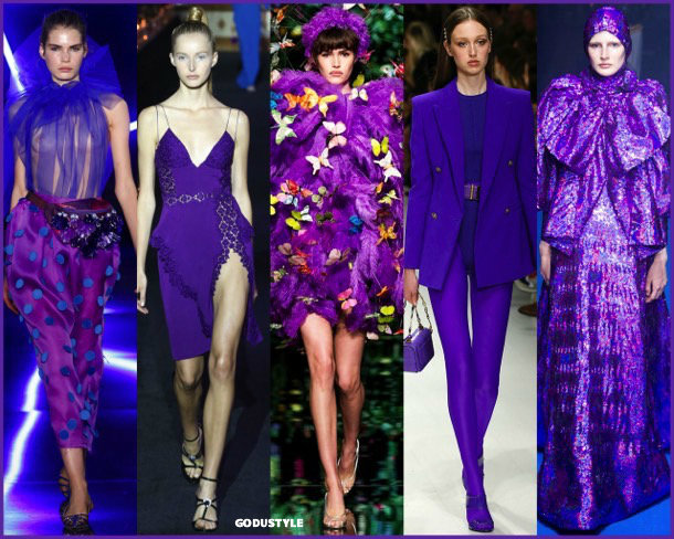 ultra violet, colors, spring 2018, trends, colores, tendencias, verano 2018, looks, style, runways, details