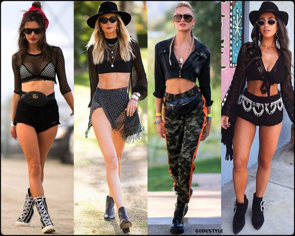 boho chic, looks, coachella, coachella 2018, trends, looks, style, tendencias, alessandra ambrosio, streetstyle