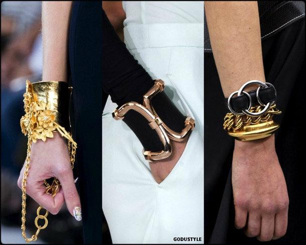 cuffs, jewels, spring 2018, trends, joyas, tendencias, details, brazaletes, verano 2018, looks, style