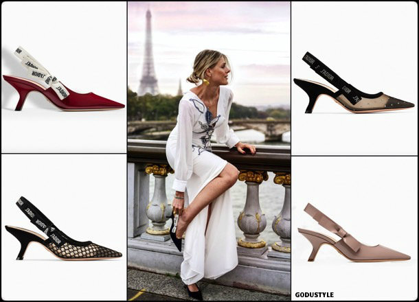 kitten heels, slingback, dior, spring 2018, trend, zapatos, tendencia, verano 2018, looks, streetstyle, shopping