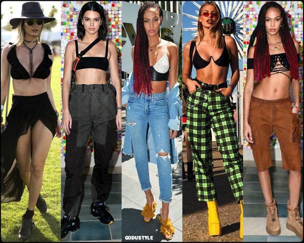 boho chic, looks, coachella, coachella 2018, trends, looks, style, tendencias, joan smalls, streetstyle