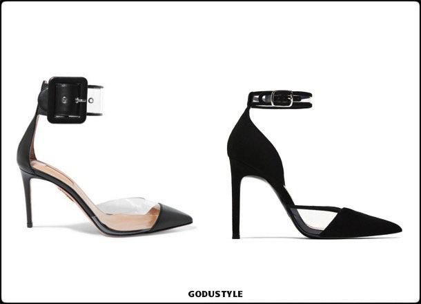 aquazzura, shoes, zara, pumps, spring 2018, trend, zapatos, clon, verano 2018, looks, streetstyle, shopping