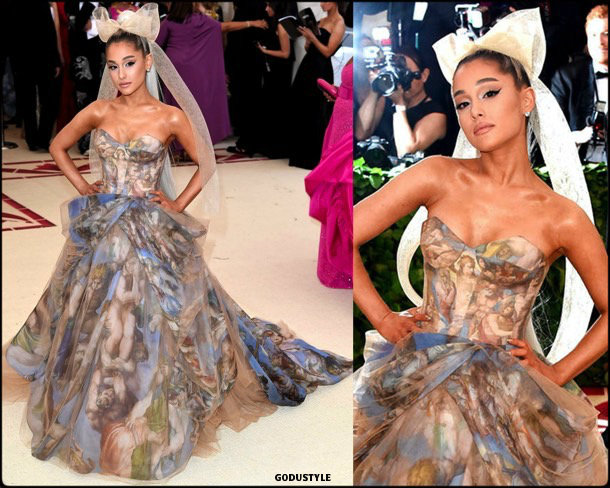 ariana grande, met 2018, gala, fashion, celebrity, look, style, details, celebrities, outfits, red carpet