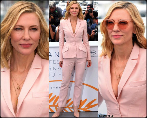 cate blanchett, fashion, looks, cannes 2018, style, stella mccartney, details, red carpets, celebrities, outfits
